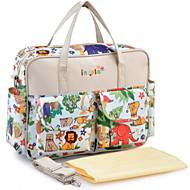 tanie Ulepszanie domu-Insular mommy bag babycare wielofunkcyjne duże przechowywanie 41 * 12 * 32 cm 0.5 kg ubrania pieluchy zabawki butelki telefonu