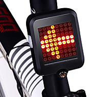 billige Sykkellykter og reflekser-Baklys til sykkel / sikkerhet lys / Baklys LED Sykkellykter Sykling Vanntett, Bærbar, Foldbar Li-ion 200 lm Rød Sykling