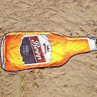 tanie Ręcznik plażowy-Najwyższa jakość Ręcznik plażowy, Przędza barwiona / Reactive Drukuj 100% mikrofibra 1 pcs