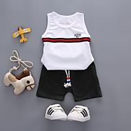 Børn / Baby Drenge Ensfarvet Uden ærmer Tøjsæt