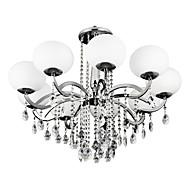 preiswerte SL®-Lightinthebox 9-Licht Kerzen-Stil Kronleuchter Deckenfluter - Kristall, 110-120V / 220-240V Glühbirne nicht inklusive / 20-30㎡