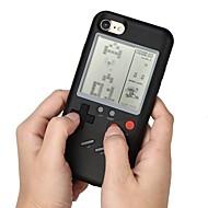 billiga Mobil cases & Skärmskydd-fodral Till Apple iPhone X / iPhone 7 Vackert / Spelväska Skal Enfärgad Hårt PC för iPhone X / iPhone 8 Plus / iPhone 8