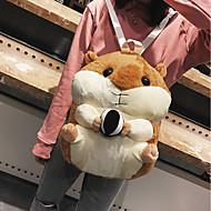 billige Skoletasker-Unisex Tasker polyester Skoletaske Lynlås for I-byen-tøj Hvid gul