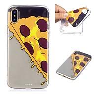 billiga Mobil cases & Skärmskydd-fodral Till Apple iPhone X / iPhone 8 Plus Genomskinlig / Mönster Skal Mat Mjukt TPU för iPhone X / iPhone 8 Plus / iPhone 8