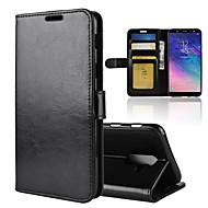 billiga Mobil cases & Skärmskydd-fodral Till Samsung Galaxy A8 2018 / A6 (2018) Plånbok / Korthållare / Lucka Fodral Enfärgad Hårt PU läder för A6 (2018) / A6+ (2018) / A8 2018
