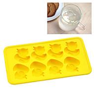billiga Kök och matlagning-Bakeware verktyg Silikon Gulligt / Kreativ / GDS (Gör det själv) Is / För glass / För Godis Bricka / Cake Moulds 1st