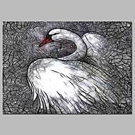 billiga Väggkonst-Tryck Stretchad Kanvastryck - Fairytale Theme / Högtid Vintage