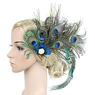 Femme Kentucky Derby Tissu Rétro Vintage Elégant Zircon Bijoux de Cheveux Barrettes / Mariage / Toutes les Saisons
