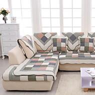 Χαμηλού Κόστους -Καναπές μαξιλάρι Γεωμετρικό Εκτυπωμένο Βαμβάκι slipcovers