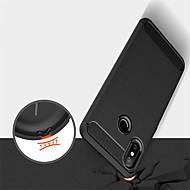 tanie -Kılıf Na Xiaomi Mi 8 / Mi 8 SE Wytłaczany wzór Czarne etui Jendolity kolor Miękkie TPU na Xiaomi Mi Mix 2 / Xiaomi Mi Mix 2S / Xiaomi Mi 8 / Xiaomi Mi 6