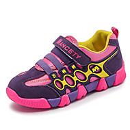 baratos Sapatos de Menino-Para Meninos Sapatos Tule Primavera Verão Conforto / Solados com Luzes Tênis Corrida / Caminhada para Infantil Preto / Roxo / Azul