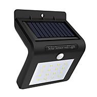 お買い得  Lampu Jalur-1個 0.5 W LED街路灯 / ソーラーウォールライト ソーラー駆動 / 赤外線センサー / 防水 ホワイト 3.7 V 屋外照明 / 中庭 / ガーデン
