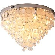 billige Taklamper-QIHengZhaoMing 10-Light Takplafond Omgivelseslys 110-120V / 220-240V, Varm Hvit, Pære Inkludert