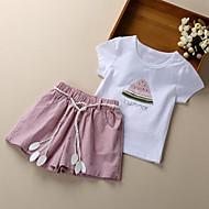 Djeca Djevojčice Print Kratkih rukava Komplet odjeće