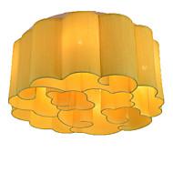 billige Taklamper-QIHengZhaoMing 6-Light Takplafond Omgivelseslys - Krystall, 110-120V / 220-240V, Varm Hvit, Pære Inkludert