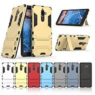 billiga Mobil cases & Skärmskydd-fodral Till Nokia Nokia 7 Plus med stativ Skal Enfärgad Hårt PC för Nokia 7 Plus