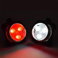 billige Sykkellykter og reflekser-Baklys til sykkel / sikkerhet lys / Baklys LED Sykkellykter Sykling Vanntett, Bærbar, Justerbar Li-polymer 200 lm Innebygd Li-batteridrevet / Oppladbart / Strøm / CR2031 batteri Hvit / Rød Sykling -