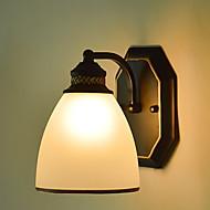 tanie Kinkiety Ścienne-Godny podziwu / Nowoczesne Prosty / Nowoczesny / współczesny Lampy ścienne Metal Światło ścienne 220-240V 40 W / E27