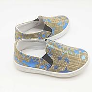 baratos Sapatos de Menina-Para Meninas Sapatos Lona Primavera Verão Conforto Mocassins e Slip-Ons Caminhada para Infantil Amarelo / Verde / Azul