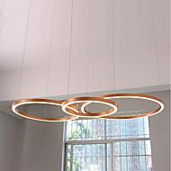 billige Bestelgere-UMEI™ Sirkelformet Lysekroner Omgivelseslys eloksert Aluminum Akryl Kreativ, Justerbar, Nytt Design 110-120V / 220-240V Varm Hvit / Hvit LED lyskilde inkludert / Integrert LED / FCC