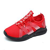baratos Sapatos de Menino-Para Meninos Sapatos Com Transparência / Couro Ecológico Primavera Verão Conforto Tênis Caminhada para Adolescente Preto / Vermelho