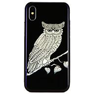 billiga Mobil cases & Skärmskydd-fodral Till Apple iPhone X / iPhone 8 Mönster Stötsäkert fodral Djur Hårt TPU för iPhone X / iPhone 8 Plus / iPhone 8