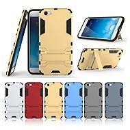billiga Mobil cases & Skärmskydd-fodral Till Vivo X9 Plus / X9 med stativ Skal Enfärgad Hårt PC för Vivo X9 Plus / Vivo X9