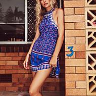 Žene Izlasci / Plaža Slim A kroj Haljina Na vezanje oko vrata Iznad koljena