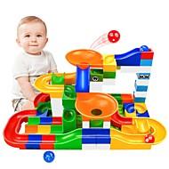 Izgradnja mramorne trke Poligoni za pikule Mramorna vožnja STEAM igračka Kreativan Interakcija roditelja i djece Dječji Uniseks Dječaci Djevojčice Igračke za kućne ljubimce Poklon 104 pcs