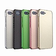 billiga Mobil cases & Skärmskydd-fodral Till Huawei Honor 10 Stötsäker / Plätering Skal Enfärgad Hårt Kolfiber / Metall för Huawei Honor 10
