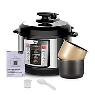 billige Smart Hjem-Trykkoker Nytt Design / Multifunktion PP / ABS + PC mat Steamers 220-240 V 900 W Kjøkkenutstyr