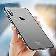 billiga Mobil cases & Skärmskydd-fodral Till Apple iPhone X / iPhone 8 Strass Skal Glittrig Mjukt TPU för iPhone X / iPhone 8 Plus / iPhone 8