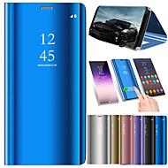 tanie -Kılıf Na Xiaomi Mi 8 / Mi 8 SE Z podpórką / Galwanizowane / Lustro Pełne etui Jendolity kolor Twarde Skóra PU na Xiaomi Mi 8 / Xiaomi Mi 8 SE
