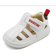 baratos Sapatos de Menino-Para Meninos Sapatos Microfibra Primavera & Outono Conforto Tênis Velcro para Infantil Preto / Bege / Rosa claro