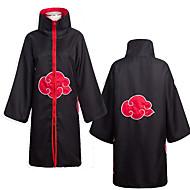 Zainspirowany przez Naruto Akatsuki Anime Kostiumy cosplay Garnitury cosplay Anime Długi rękaw Płaszcz Na Męskie