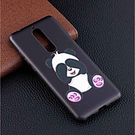 billiga Mobil cases & Skärmskydd-fodral Till Nokia Nokia 5.1 / Nokia 3.1 Mönster Skal Panda Mjukt TPU för Nokia 8 / Nokia 6 / Nokia 5