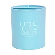 billige Lagring og oppbevaring-kosmetisk / Sminke Planlegger Plast Lagring og Organisering Multifunksjonell Rund 1pc