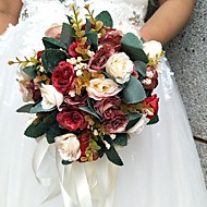 "Wedding Flowers Bouquets Wedding / Special Occasion Polyester 7.87""(Approx.20cm)"