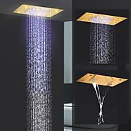 baratos Chuveiros-Moderna Chuveiro Tipo Chuva Ti-PVD Característica - Efeito Chuva / Novo Design, Lavar a cabeça