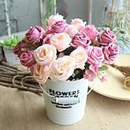 billige Bestselgere-Kunstige blomster 1 Gren Klassisk Rustikk / Bryllupsblomster Roser Bordblomst