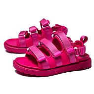 baratos Sapatos de Menina-Para Meninas Sapatos Couro Ecológico Verão Conforto Sandálias para Preto / Pêssego