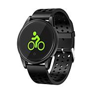 billige -Smart armbånd M10 til Android / iOS 7 og over Pulsmåler / Vanntett / Blodtrykksmåling / Kalorier brent / Pekeskjerm Pedometer / Samtalepåminnelse / Aktivitetsmonitor / Søvnmonitor / Stillesittende
