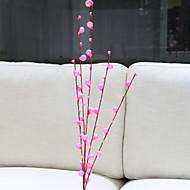 billige Kunstige blomster-Kunstige blomster 1 Gren Klassisk Enkel Stil Planter Gulvblomst