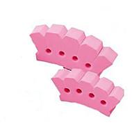 Χαμηλού Κόστους Εργαλεία & Αξεσουάρ-Εργαλεία Στάιλινγκ Μαλλιών Πλαστικά / Αφρός Εξαρτήματα Χτένα Απλός 2pcs Καθημερινά Ρούχα Μοντέρνο / Σύγχρονο Ροζ