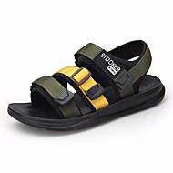 baratos Sapatos de Menino-Para Meninos Sapatos Microfibra Verão Conforto Sandálias para Verde Tropa / Preto / Vermelho / Black / azul