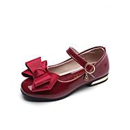 baratos Sapatos de Menino-Para Meninos Sapatos Couro Ecológico Primavera Verão Conforto / Sapatos para Daminhas de Honra Rasos Caminhada Laço para Adolescente Preto / Vermelho / Rosa claro