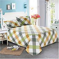 billige Hjemmetekstiler-Flat Laken - polyester Trykket Trykt mønster 1stk Flatt Laken