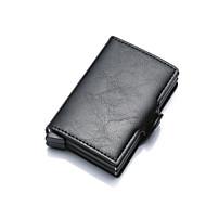 Χαμηλού Κόστους Πορτοφόλι για Νομίσματα-Γυναικεία Τσάντες PU Θήκη για κέρματα Κουμπί Γκρίζο / Καφέ / Χακί