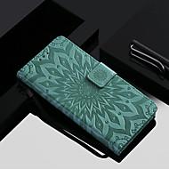 billiga Mobil cases & Skärmskydd-fodral Till OnePlus OnePlus 6 / OnePlus 5T Plånbok / Korthållare / med stativ Fodral Blomma Hårt PU läder för OnePlus 6 / One Plus 5 / OnePlus 5T