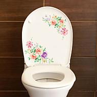 billiga Väggklistermärken-Toalettstickers - Animal Wall Stickers Djur / 3D Vardagsrum / Sovrum / Badrum